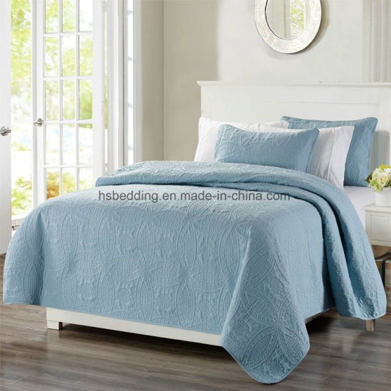 Polyester Ultrasonic Quilts Sheets Bed Bedding Set Thick/Thin Bedspread  Used As Summer Quilts