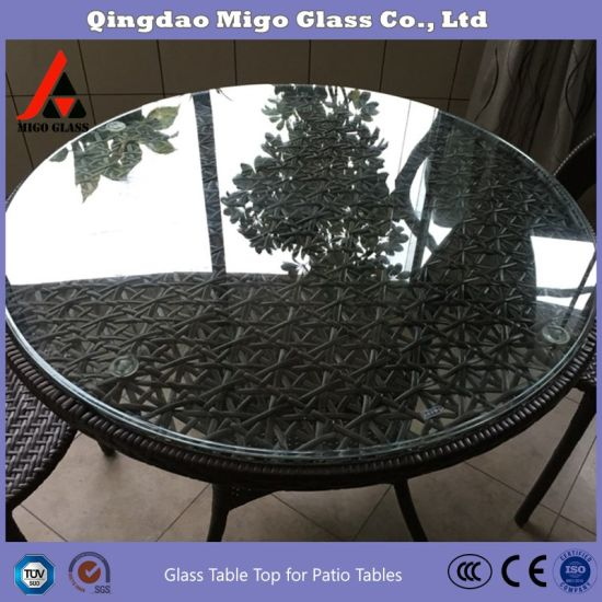 China Glass Manufacture Direct Tempered Glass Patio Table Top With Rounded Edge 5 16 Inch Thick 36 Inch Round Tempered Glass China Table Top Glass Panels Glass Table Top Replacement Made In China Com