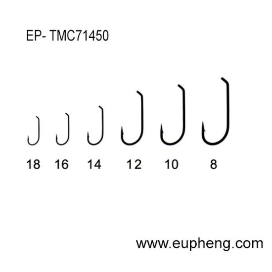 Mustad Code Tmc71450 Bronzed Color Fly Hooks