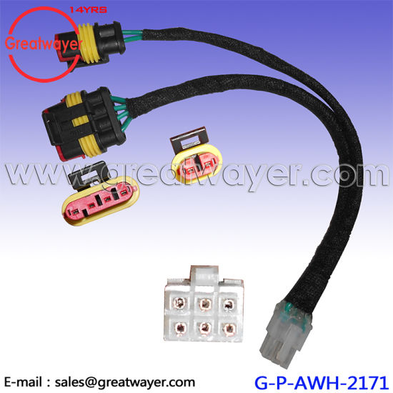 china delphi 4 pin auto connector adapter molex 6 pin ev light new rh greatwayer en made in china com