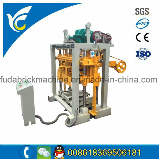 Small Block Machine/Habiterra Concrete Block Machine China Brand pictures & photos