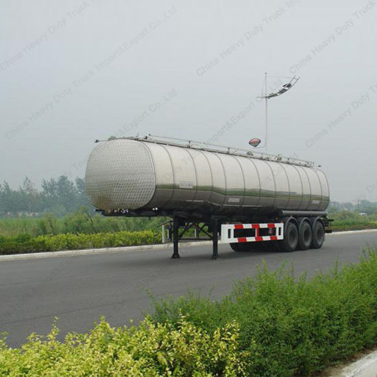 5000 Liters 3 Axle Oil/Fuel Tank Semi-Trailer pictures & photos