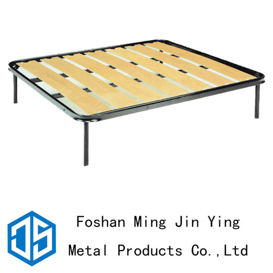 China Full Size Classical Wide Slats Metal Bed Base (A029) - China ...