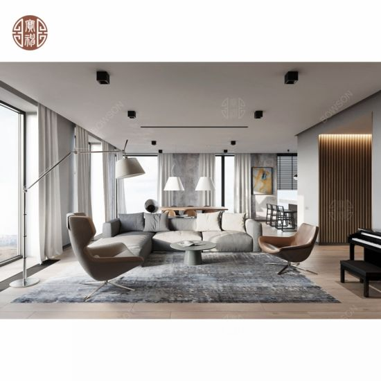 Modern Minimalist Style Hotel Apartment Living Room Furniture Set