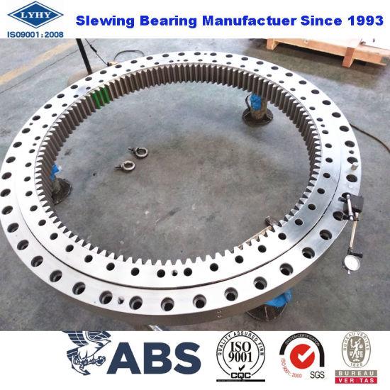 Four Point Contact Ball Slewing Ring Bearing Kud02050-035va15-900-000