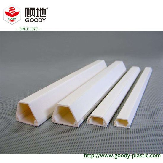 China Wide Size Ranges Decorative Conduit Electrical Wire Plastic Wall Cable Trunking China Pvc Conduit Pipe And Pvc Wire Pipe Price