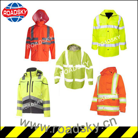 Wholesale High Vis Jacket/ Trousers/ Raincoat Guard Security Clothes pictures & photos