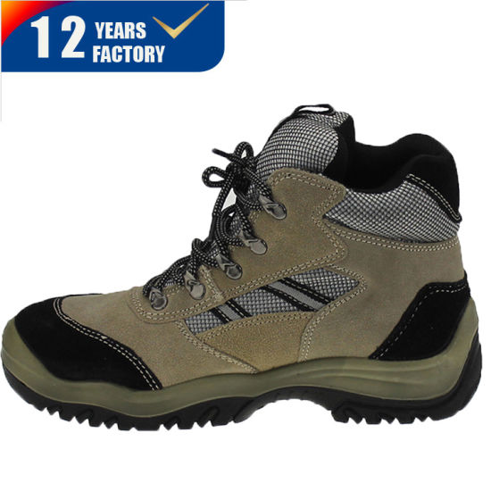 Keep Warm Cold Resistance Safety Boots Genuine Leather Upper Winter Wool Lining Steel Toe Cap Safety Boots
