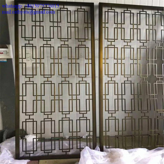 Interior Decorative Wall Covering Panels Laser Cut Metal Screens Pictures Photos