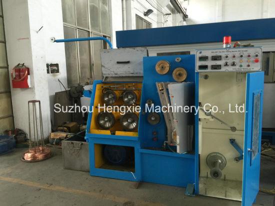 China Copper Wire Making Machine with Online Annealing Machine ...