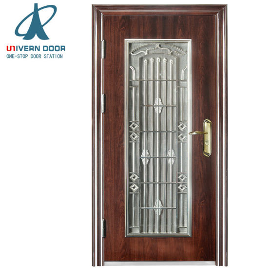 China New Wrought Iron Grill Window Door Panel Grill Designs China