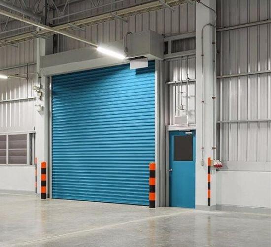 Professional Windproof Turbine Metallic Rolling Door