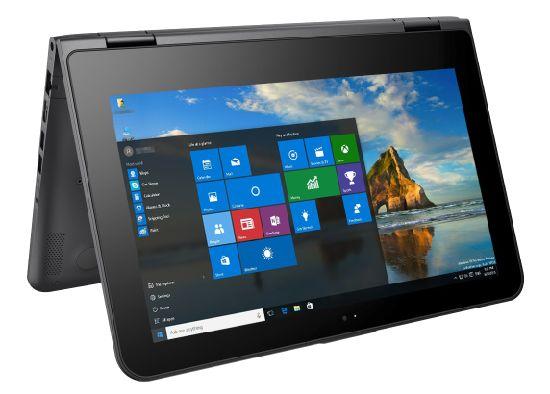 "11.6"" Yoga Type Laptop 10 Points Tp Intel Pentium M Processor, 4G /120g SSD Intel 5g WiFi 360 Deg Rotating, Famouse International Brand"