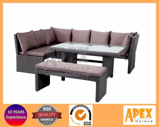 China Wicker Furniture Dining Set Garden Furniture Patio Furniture ...