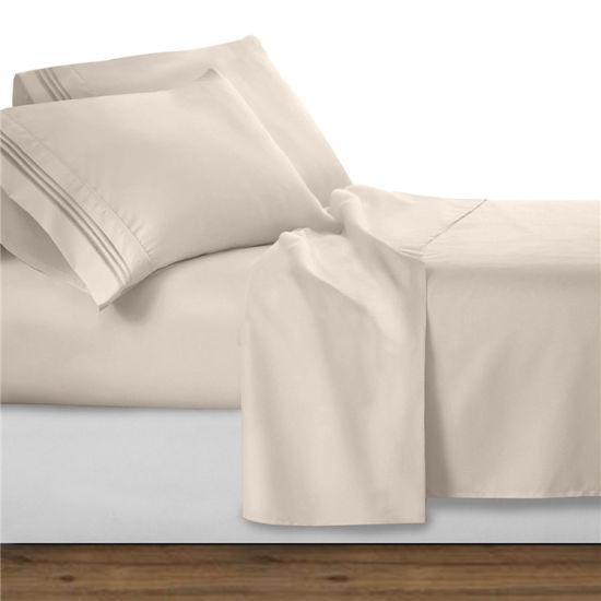 Hotel Collection 300 Thread Count Sateen Sheet Set pictures & photos