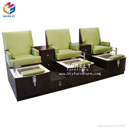 Strange China Foshan Cheap Three Seater Salon Spa Pedicure Bench Gamerscity Chair Design For Home Gamerscityorg