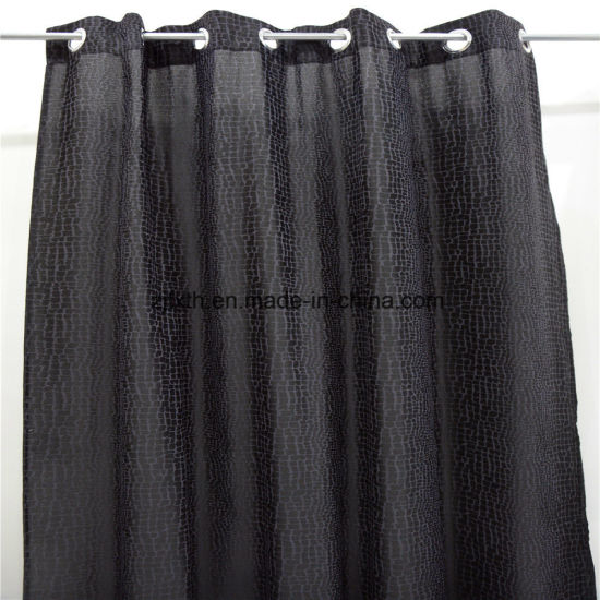 2020 The Most Hot Selling Black Printing Polyester Window Curtain Fabric in Wholesale Market