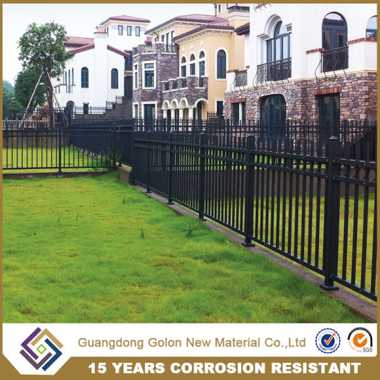 Iron Or Aluminum Garden Fence With Any Color