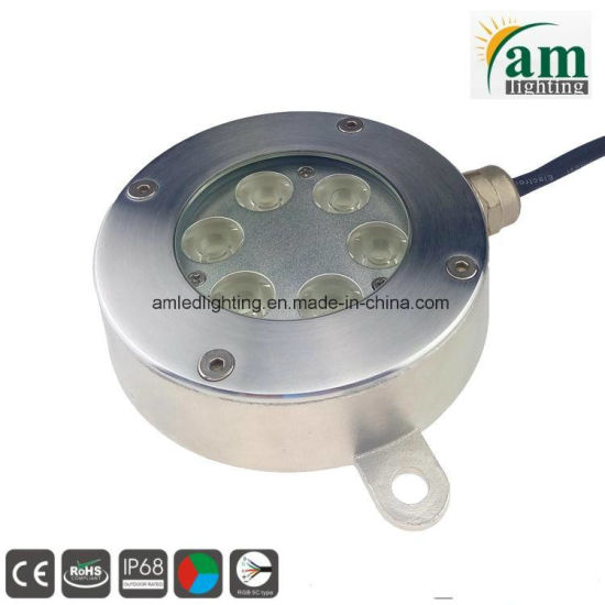 Blue/Green/Cool White Light 24V LED Underwater Pool Lamp pictures & photos