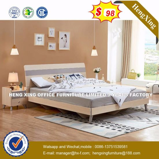 King Size Leather Almirah Designs Rollaway Bed (HX-8NR0828) pictures & photos