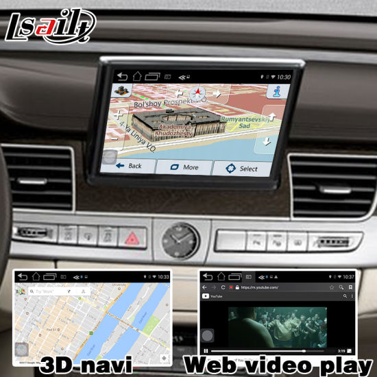 China Android GPS Navigation System Box for Audi Q7 Video