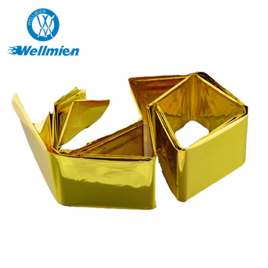 High Quality First Aid Gold Silver Emergency Blanket