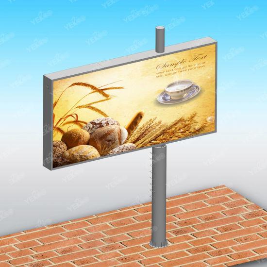 Roadside Scrolling Advertising Unipolebillboard