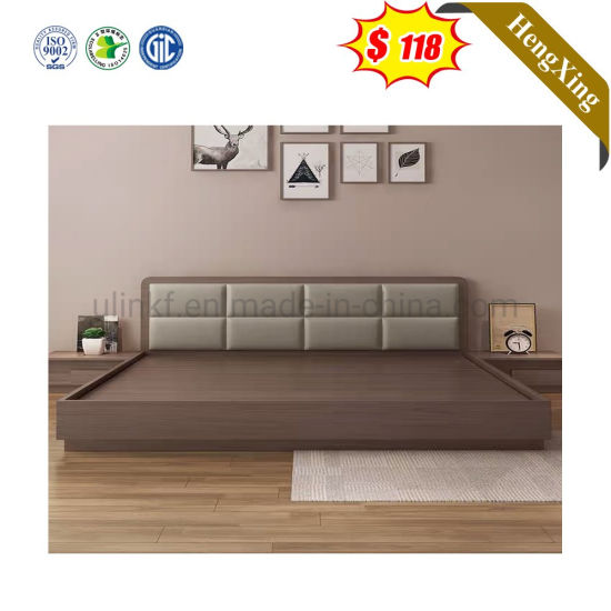 Non-Washable Modern Bedroom Beds with Knock Down Packing