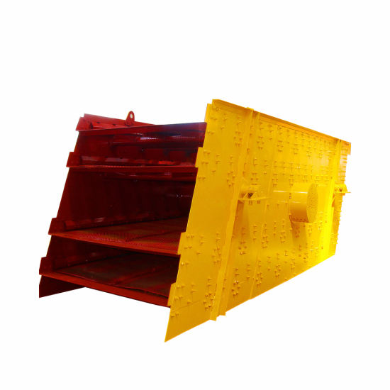 Yk Series Mineral Processing Equipment Circular Vibrating Screen for Stone Crusher