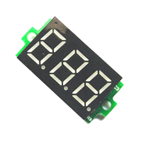 China Voltmeter Led Display Mini 2 3 Wires Voltage Meter Ammeter China Digital Voltmeter Ammeter Ammeter