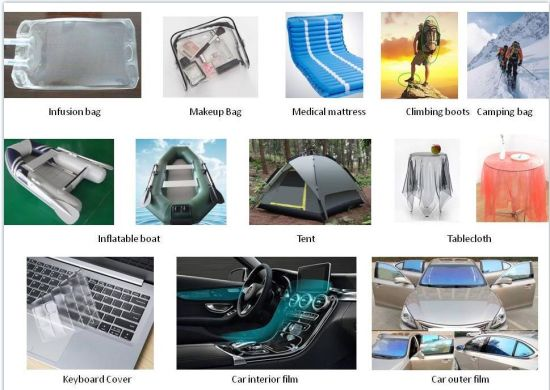TPU Laminated with 210d Nylon Fabric for Oxygen Bags