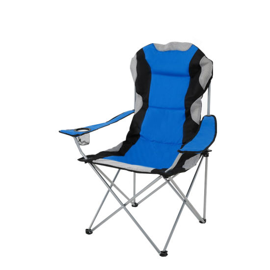 Wholesale Outdoor Newest Design Fishing Folding Stool Backpack Beach Chair Metal Stand Beach Lounge Chair