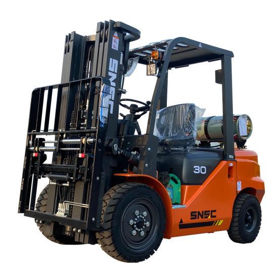 3 Ton LGP Gas Forklift Price, Grua Horquilla 3 Toneladas
