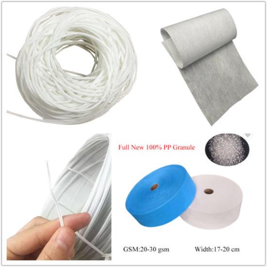Disposable Surgical Face Mask Raw Materials of PP Nonwoven Fabric