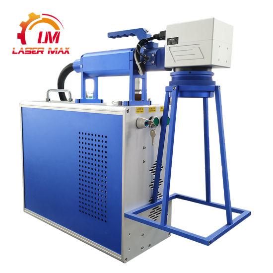 OEM Manufacturer China 20W 30W 50W Handheld Fiber Laser Marking Machine for Metal Engraving