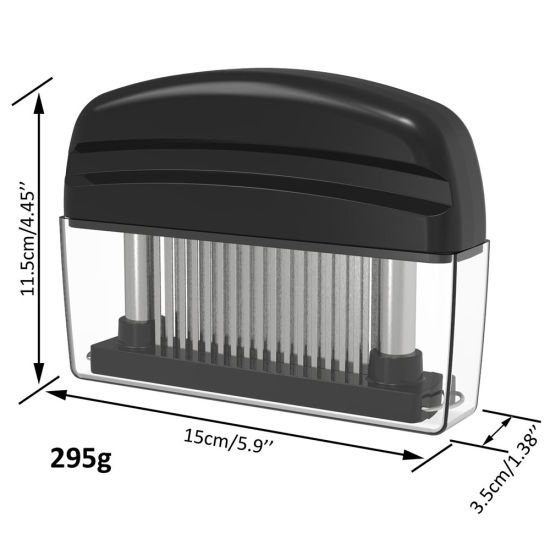China 48 Blades Needle Meat Tenderizer Stainless Steel Knife Meat Beaf Steak  Mallet Meat Tenderizer Hammer Pounder Cooking Tools - China Meat Tenderizer  and 48 Blades Needle price