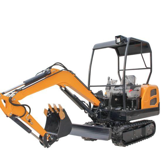 Mini Excavator Yn18 Crawler Excavator