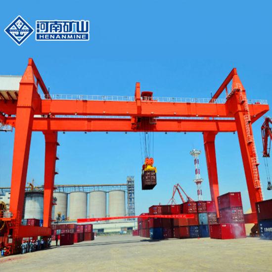 Rmg Container Double Girder Gantry Crane-Rail Mounted Gantry Crane