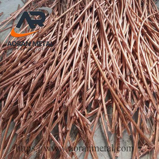 Millberry Copper Scrap 99.99% High Quality Copper Wire Scrap