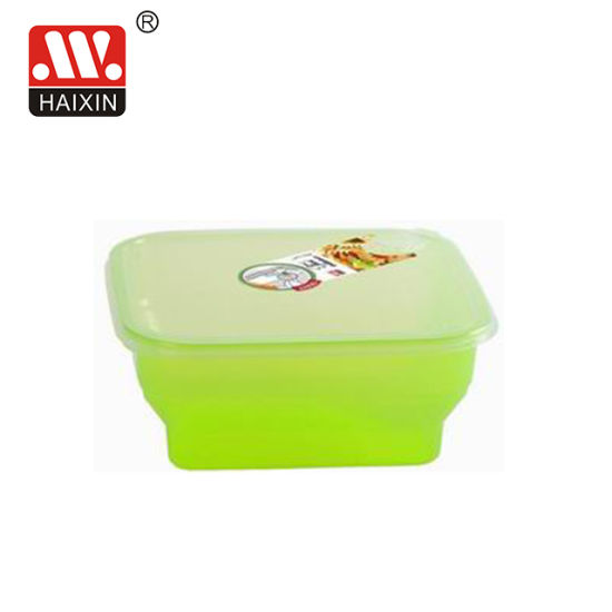 Square BPA Free Freezer Safe Microwave Safe Plastic PP Plastic Containers with Air Hole