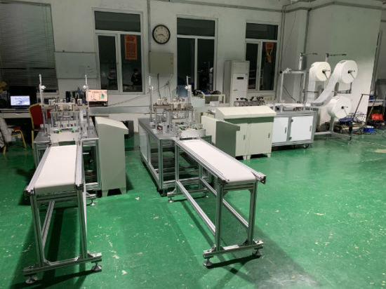 Fully Automatic 3 Ply Nonwoven Fabric Disposable Facemask Facial Surgical Face Masks Making Machine 10% Discount