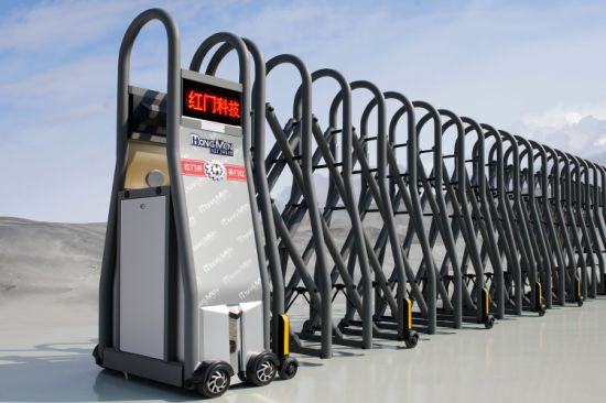 Folding Gate and Automatic Sliding Gate Designed for Parking Area