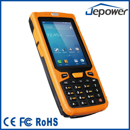 China Ht380a Handheld Android Pda With Nfc Rfid Reader And Barcode