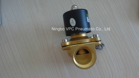 12VDC Electric Solenoid Valve Water Air Gas, Fuels Normal Closed - 1/2 pictures & photos