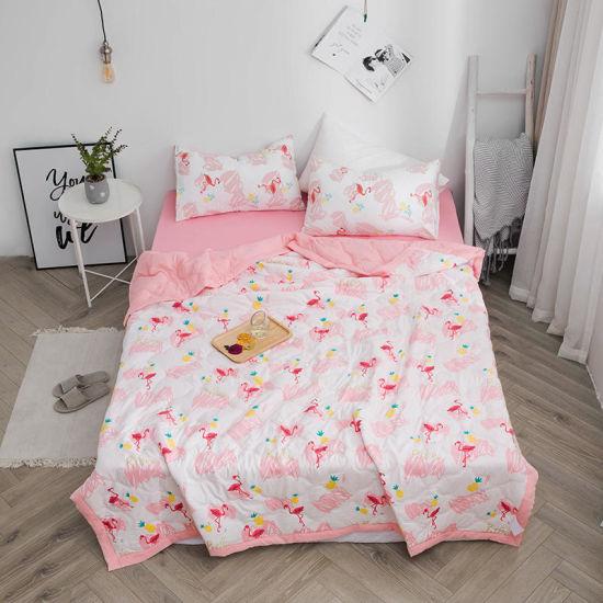 Wholesale Thin Quilt, Soft Washed Comforter Bedsheet, Comfortable Summer Ultrasonic Bedspread Set
