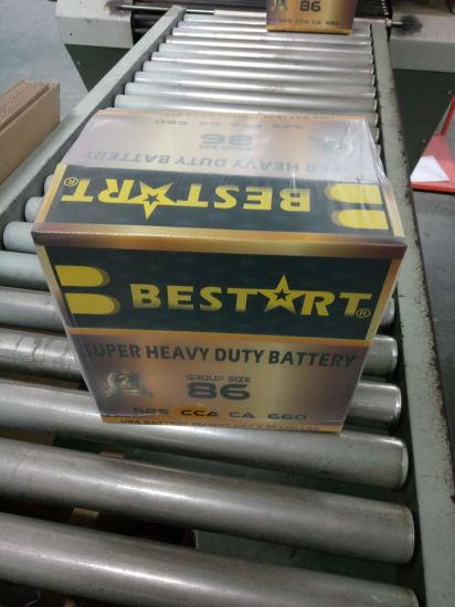 Manufacturing 86-661 12V 60ah Super Power Capacitor Car Battery pictures & photos