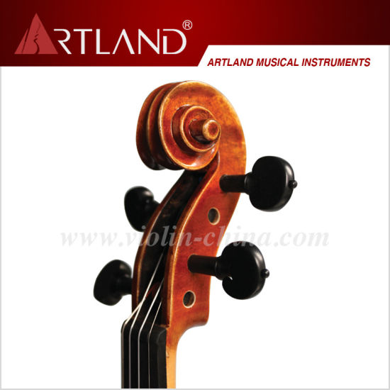 Professional Stradivari Model Violin Solo Violin High Grade Advanced Violin (AV300G) pictures & photos