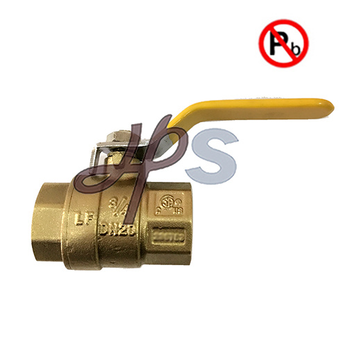 Upc Low Lead Brass NPT Thread Ball Valve for USA Market pictures & photos