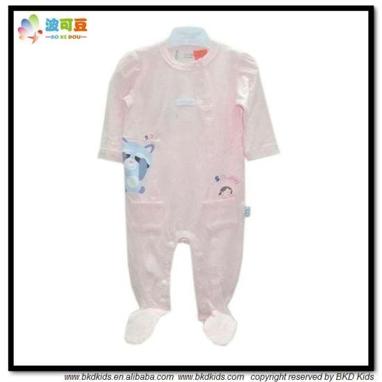 2018 Popular Design Baby Garment Footed Infants Jumpsuit