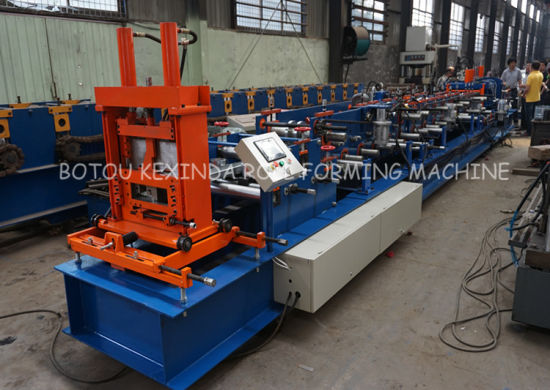 C Metal Sheet Channel Forming Machinery for Roof pictures & photos